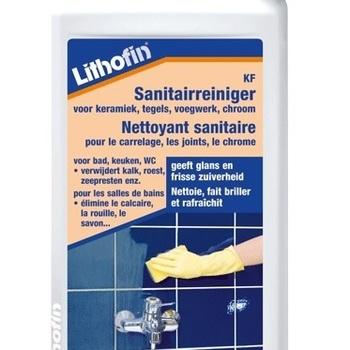 Lithofin KF Sanitairreiniger voor keramiek, tegels, voegwerk, chroom