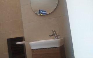 Ideal Standard: Softmood wc meubel walnoot + fontein softmood + spiegel