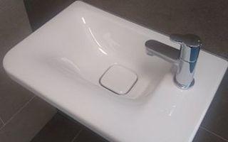Ideal Standard: Fontein Tonic II asymmetrisch kraangat rechts